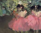 Bailarinas Lámina giclée por Edgar Degas