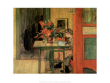 Lisbeth Reading, 1904 Prints by Carl Larsson