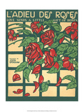 Vintage Music Sheet, Love Send a Little Gift of Roses Prints