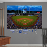 Night Game at Kauffman Stadium Mural Wall Mural