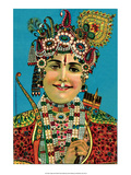 Vintage Indian Bazaar Art