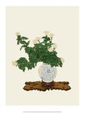 Ikebana, White Chrysanthemum Posters by Koun Ohara