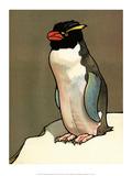 Bird Illustration, The Penguin, 1899 Prints by Edward Detmold