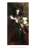 Portrait of Mille Lantelme, 1907, Prints by Giovanni Boldini