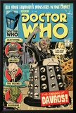 Doctor Who-Origin Of Davros Comic Cover Poster