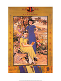 Shanghai Lady Vintage Chinese Advertising Poster Print
