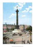 Vintage Paris Postcard - Bastille Posters