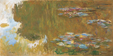 The Water-Lily Pond Giclee Print by Claude Monet