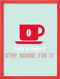 Coffee Poster Red Posters by  NaxArt