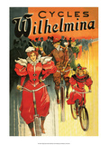 Vintage Bicycle Poster, Wilhelmina Prints