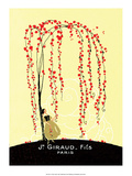 Vintage Art Deco Label, Giraud, Paris Posters