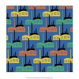 Soviet Constructivist Style, Factories Print