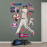 Chase Utley - At Bat Wall Decal