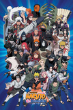 Naruto Characters Posters