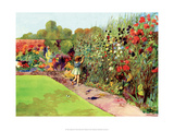 Vintage Classroom Poster - Flower Garden Posters