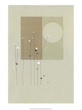 Moon Flowers Poster by Takashi Sakai