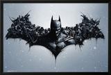 Batman Origins - Arkham Bats Print