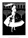 Slipper of Cinderella, 1894 Prints by Aubrey Beardsley
