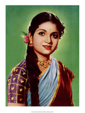 Vintage Bollywood Star, Devi Art