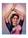 Vintage Bollywood Star, Shyama Art