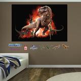 T-Rex & Velociraptor Jurassic World Mural Wall Mural