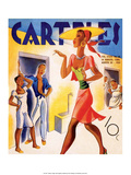 Carteles, Retro Cuban Magazine, Local Havana Beauty II Art