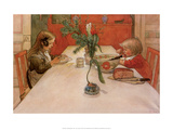 Evening Meal, 1905 Posters by Carl Larsson