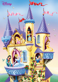 Disney Princess- Castle ポスター