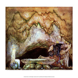 Princess in the Troll Kingdom Posters by John Bauer