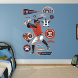 Josltuve - Batting Wall Decal