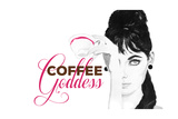 Coffee Goddess Giclee Print