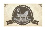 Rhode Island Reds 3 Giclee Print