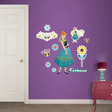Anna - Frozen Fever - Fathead Jr. Wall Decal
