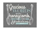 Gracious Words Giclee Print
