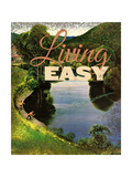 Easy Living Giclee Print