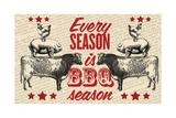 Barbecue Season Digitálně vytištěná reprodukce