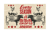 Barbecue Season Giclee Print