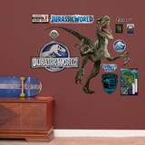 Velociraptor - Jurassic World - Fathead Jr. Wall Decal