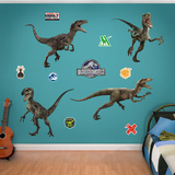 Raptor Collection - Jurassic World Wall Decal