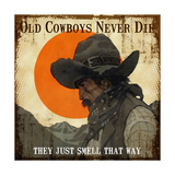 Old Cowboys Giclee Print