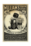 Williams Shaving Stick Giclée-tryk
