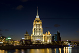 Moscow, Hotel Ukraine ( Radisson Royal ) Photographic Print by Iva Afonskaya