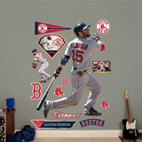 Dustin Pedroia - Batting Wall Decal