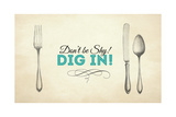 Dig In! 2 Giclee Print