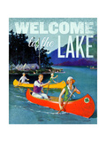 Welcome to the Lake 2 Giclee Print