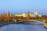 Kremlin on Sunset - Autumn in Moscow Russia Photographic Print by  Nik_Sorokin