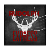Rudolph Express Giclee Print