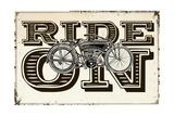 Ride On Giclee Print