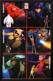 Big Hero 6 - Heroes Posters