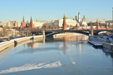 The Moscow Kremlin is A Unesco World Cultural Heritage Photographic Print by  sergunt